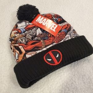 Deadpool Marvel Winter Beanie